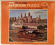 1970s New York, Ny, Lower Manhattan View Jigsaw Puzzle, Whitman, 500 Pieces, New