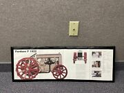 Vintage Fordson F 1922 / Ford Naa 1953 Tractor Poster Sign - The Farm Museum