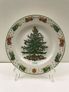 2000 Spode England Annual Collector Plate Christmas Tree In Original Box