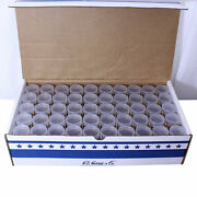 100 Round Coin Tubes Half Dollar Size He Harris Clear Archival Quality