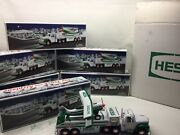 2002 Case Of 6 Hess Toy Truck And Airplane In Boxes