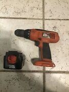 Black And Decker Firestorm 12v Drill/driver And Battery