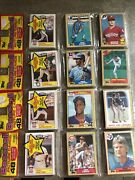 Topps Baseball Cards 1986 All Star Game Commemorative Card Picture Cards Lot 4