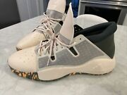 Adidas Pro Vision Basketball Shoes Beige Camouflage Sole Size 19 Ef0476 New