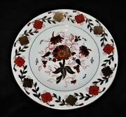 Royal Crown Derby Asian Rose 8687 Dinner Plate 10 5/8 Rust And Navy Floral