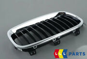 New Genuine Bmw 3 Series F30 F31 Regular Style Kidney Grill Right O/s 7255412