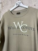 Vintage 1995 Wile E Coyote Loony Tunes Parody Tee Shirt Size Xl