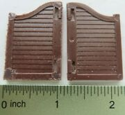 Replacement Saloon Doors For Marx Western Town Playset