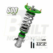 Fortune Auto 500 Gen 7 Super Low Coilovers For Acura Tsx Cl9
