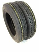 2 Two 5.70-8 4ply Lrb Jet Ski Boat Motorcycle Utility Trailer Tire 570-8