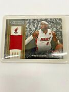 2012-13 Panini Threads Authentic Jersey Patch Relic Lebron James Miami Heat Ssp