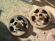 1932 1933 1934 Ford 12 Rocky Mountain Front Brake Drums Pair