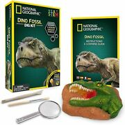 National Geographic Dinosaur Fossil Dig Kit Kids Activity Gift Set
