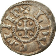 [894741] Coin France Louis Le Pieux Obol 822-840 Extremely Rare
