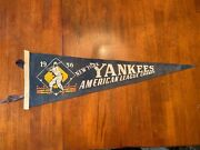 1956 New York Yankees ,american League Champs Pennant