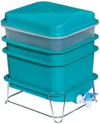 4-tray Worm Factory Farm Compost Small Compact Bin Set