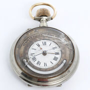 Pocket Watch, Compass, Barometer, Thermometer Item 56953