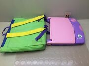 Leapfrog Leappad Learning Game System Purple Pink Leap Frog