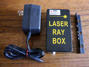 Laser Ray Box 635nm Project 5 Parallel Beams, Class Ii Laser, Power Adapter