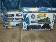 Brand-new 2×lionel The Polar Express Train Sets 7-11803 And 7-11925