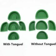 Dental Lab Silicone Rubber Plaster Model Base Molds With Tonguel/without Tonguel