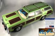 Chevy Chase Signed 1-18 Wagon Queen Family Truckster Diecast Car National Lam...