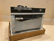 Smeg Linea Sc45vk 24 Inch Single Electric Wall Convection Oven With Steam