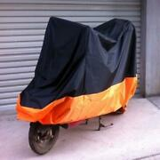 L Motorcycle Cover Waterproof Rain Dust Sun Protector For Harley Electra Glide