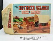 Covered Wagon W Horse In Box 4434 Johnny West Marx Vintage 1966