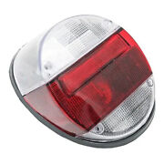 Vw Bug Rear Tail Light Assembly Complete Crystal Red White Volkswagen Beetle 1pc