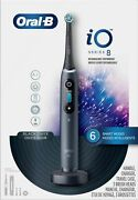 Oral-b - Io Series 8 Connected Rechargeable Electric Toothbrush - Onyx Black