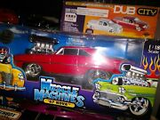 Muscle Machines Blown Red 1967 Chevy Nova 118 Scale Diecast New In Box