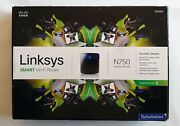 Linksys [ea3500] N750 Dual Band Smart Wi-fi Router W/ Box [excellent Condition]