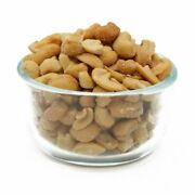 Fresh Cashews Andndash Butts Roasted Salted 10 Lb - 25 Lb Free Shipping Nuts
