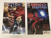 Thor 4 And 5, Cameo And 1st Appearance Of Black Winter, 1st Prints, Marvel 2020, Nm