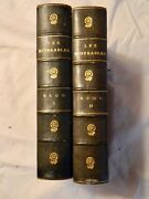 Les Miserables By Victor Hugo. Hardcover. 2 Volumes. Undated Very Good Condition