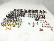 Big Lot Marx Toys Miniature Warriors Of The World British And Turkish 1 Soldiers