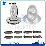 Front Rear Ceramic Pads And Rotors Brake For Jeep Commander Jeep Grand Cherokee