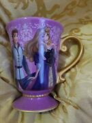 Disney Fairytale Designer Collection Mug Aurora And Phillip Beauty And The Beast