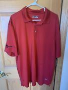 Trane Embroidered Callaway Polo Mens Size Xxl