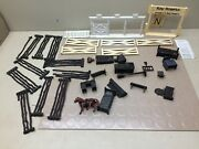 Vintage Marx Roy Rogers Rodeo Ranch And Mineral City Accessories Lot