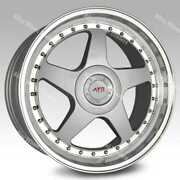 Alloy Wheels 18 04 For Audi A4 A6 A8 Tt Rs Coupe Roadster Q2 Q3 Q5 5x112 Silver