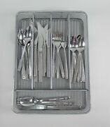 30pc Set Of Airline Stainless Steel Flatware Eastern, United, Northwest Orient