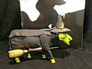 Wizard Of Oz Udderly Witched Cow 7245 Westland Cows On Parade 2002 W/ Box And Tag