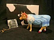 Wizard Of Oz Dorothy Cow 7241 Westland Cows On Parade 2002 W/ Box And Tag