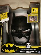 Batman Dc Voice Changing Mask 15+ Phrases The Caped Crusader Chaos Creature New