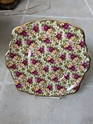 Royal Albert China Old Country Roses Chintz Collection 7 3/4 Plate - Excellent