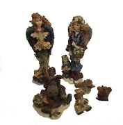 Boyd's Bears And Friends Folkstone Collection Lot Of 6 Figurines