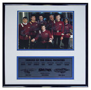 Star Trek Cast Signed Photo -- Limited Edition By 7