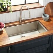 Signiture Hardware Stainless Steel Kitchen Sink